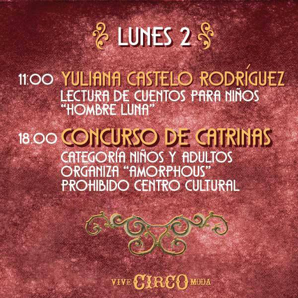 Evento-Vive Circo Moda - El Vado